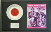 "BEACH BOYS - 7"" Platinum Disc & Songsheet- DANCE,DANCE,DANCE"